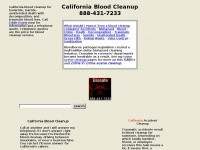 California-blood-cleanup.biz