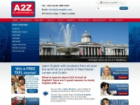 A2Z School of English, Speak English, Learn English, Manchester, Wimbledon, Dublin
