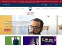 Theamericancollege.edu