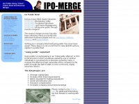 IPO-Merge.com - Go Public Quickly Using Clean Public Shell and Reverse Merger