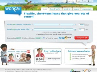 Wonga.co.za Official site - Fast little loans