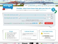 Wonga.ca Official site - Fast little loans