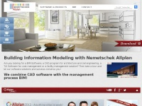 BIM - CAD Program - BCM & CAFM Software - NEMETSCHEK ALLPLAN
