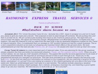 Raymond's Express Travel Services ~ Travel Services with Extras