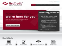 Netcredit.com - Get A Personal Loan Online, Perfect Credit Or Not - NetCredit