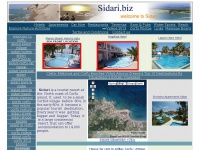 Sidari Corfu Greece. Sidari and Corfu Hotels, Apartments, Beach, Pictures, People, WebCam and more in Sidari Corfu Greece Travel Guide. Sidari.biz