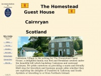 Cairnryan, The Homestead Guest House, Accommodation in Cairnryan, BandB, 3 Star Tourist Board