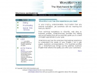 WordWatch.biz - WE TRANSLATE understandable eNg1iSh INTO English