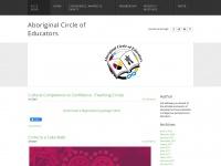 Aboriginalcircleofeducators.ca