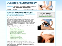 albertamassagetherapist.ca Thumbnail