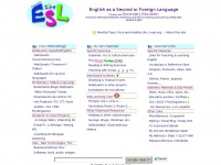 Isabelperez.com - Isabel's ESL Site: English as a Foreign ...