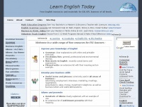 Learn-english-today.com - Free website for learners of  English | ESL-EFL | Learn English  Today
