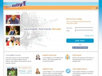 Englishbaby.com - Learn English free and chat in English online at English, baby!