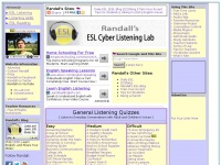 Esl-lab.com - Randall's ESL Cyber Listening Lab - For English as a Second Language
