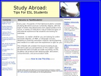 Study Abroad: Tips For ESL Students