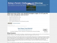Being a Parent: Challenges and Blessings