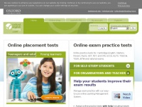 Oxfordenglishtesting.com - Oxford Online Placement Test | Young Learners Placement Test | Exam Practice Tests for Cambridge English Key, Preliminary, First, Advanced; IELTS; TOEIC; TOEFL; ECCE