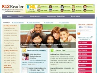 K12reader.com - Reading Worksheets, Grammar, Comprehension, Lesson Plans |