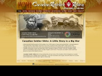 canadiansoldiersikhs.ca Thumbnail