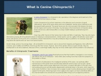 caninechiropractor.ca