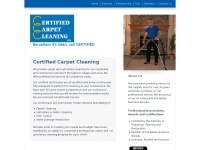 Certifiedcarpetcleaning.ca