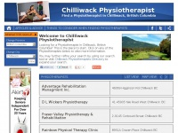 Chilliwackphysiotherapy.ca