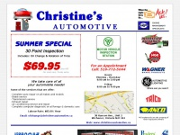 Christine's Automotive - Motor Vehicle Inspection Station - Auto Repairs, Oil Changes, Tires, Lights, Car and Truck Batteries