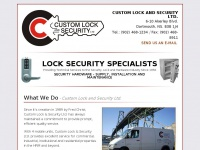 customlock.ca Thumbnail