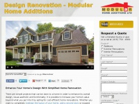Design Renovation - Design & Renovations around the Greater Toronto Area | Modular Home Additions