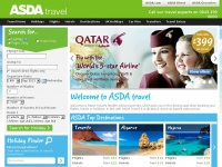 Cheap Holidays, Flights, Hotels, City Breaks, Car Hire, Transfers - Asda Travel