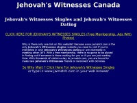 online dating for jehovah s witnesses