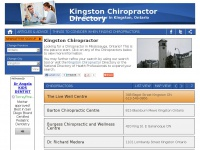 kingstonchiropractor.ca Thumbnail