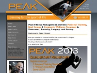 Peakfitnessmanagement.ca