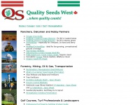 A leading Canadian supplier of Turf seed, Forage seed, Erosion Control seed and related products, we offer this online resource and seed catalogue. Forage Seed, Turf Seed, Reclamation and Revegetation Seed, Wildflower Seed, Pride Seed Corn, Cover Crops, Organic Seed, Forage Inoculants, Seeds for Landscape and Reclamation, Professional Turf Seed, Slow Release Fertilizers, Tree Fertilizers, Organic Fertilizers, Erosion Control Products, Seeders, Spreaders, Garden Inoculant, Premier Pacific Seeds, Richardson S