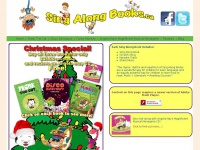 Sing Along Books, Childrens Sing Along Books featuring Frank the Cat, Disco Dinosaurs and Funky Monkey