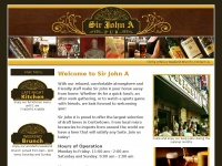 Sir John A Pub: Home