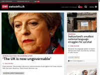 swissinfo - Swiss news and information platform about Switzerland, business, culture, sport, weather