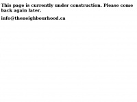 Theneighbourhood.ca