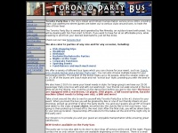 Torontopartybus.ca