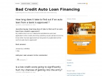 badcreditautoloanfinancing.us