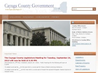 Cayuga County New York Local Government