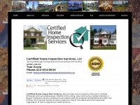 certifiedhomeinspectionservices.us