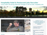 Hospitality Hotel manager jobs Restaurant recruiter Chef