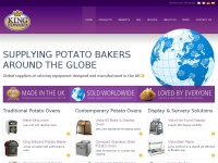 Global suppliers of Potato Ovens, Potato Bakers, Display & Servery Solutions - King Edward