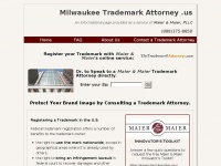 Milwaukeetrademarkattorney.us