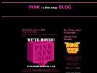 Pink Is The New Blog | Fingers Firmly On The Pulse