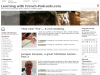 Learning with French-Podcasts.com