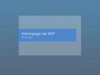 adminpage.net