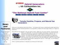 Yamaha Propane and Natural Gas Generators