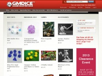 Gmdice.com - Game Master Dice Store, Game Dice, RPG Dice, D&D Dice, Card Games and Board Games Store - Game Master Dice